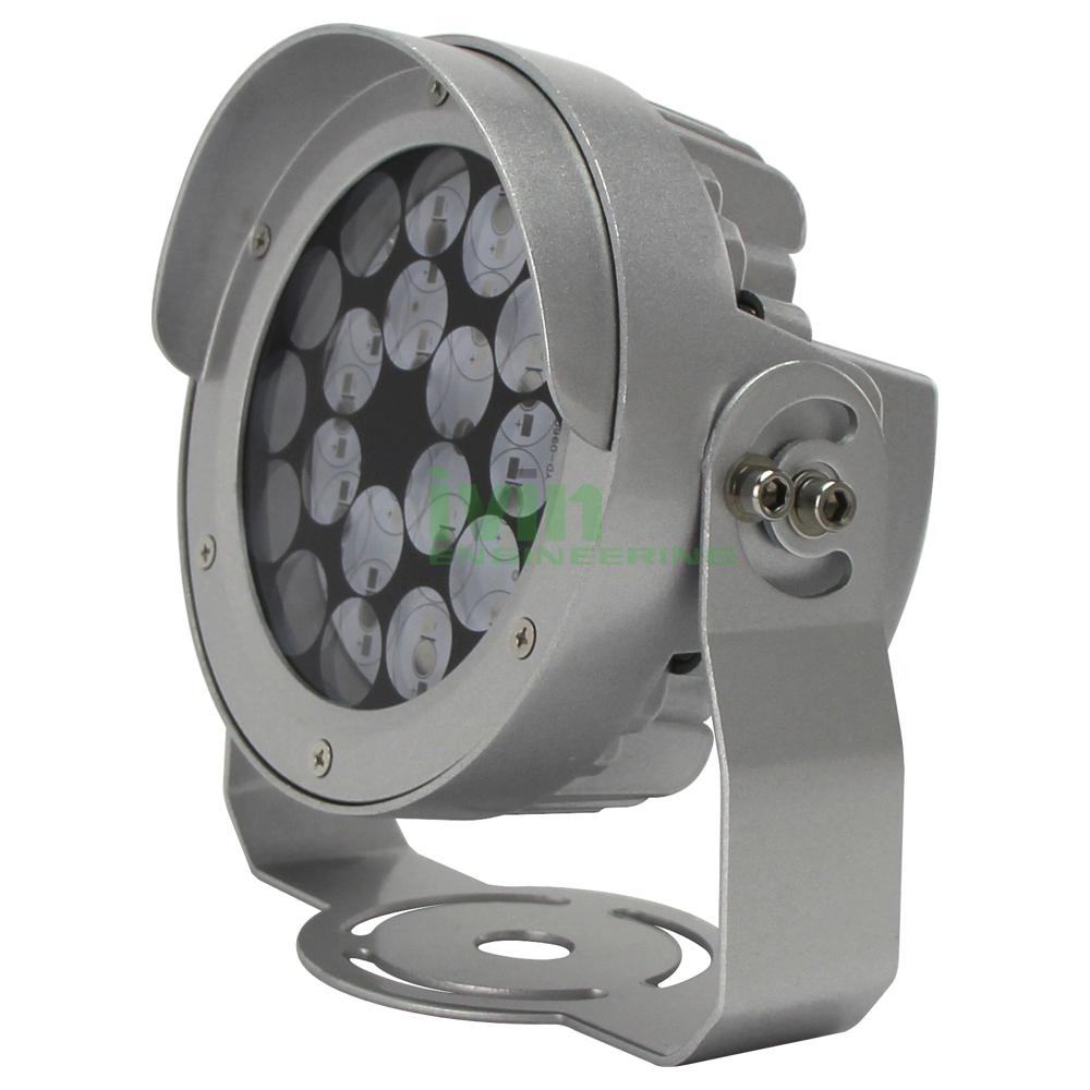 16W 18W 24W  LED out door spot light casing, 24W LED flood light housing.